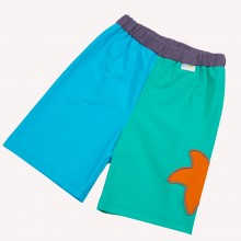 UV protection Bathing Trunks with Starfish