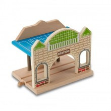 Station made of FSC wood