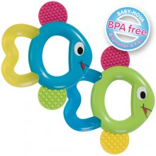 Cooling Teether Fish – Teething Aid in two colours