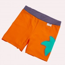 Girls Bikini Briefs Orangina with Starfish & UV Protection 50+
