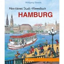 """Discover Hamburg - Children's Picture Book """"Mein kleines Stadt-Wimmelbuch Hamburg"""""""