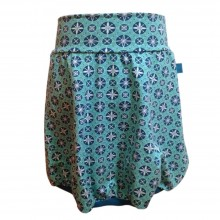 Patterned Bubble Skirt made of Organic Cotton Jersey Snow Stars