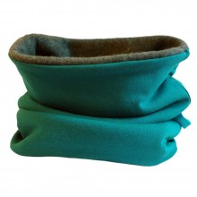 Winterproof Loop Scarf plain Emerald/Anthracite