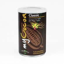 Organic Cocoa Powder 50% Classic with Cane Sugar and Vanilla