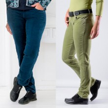 bloomers Velvet Pants in different colours