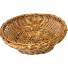 Bread Basket, round, Willow from Biodora