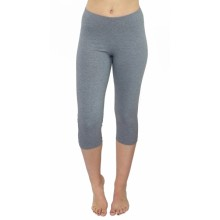 Organic Cotton Capri Leggings for Sports and Yoga