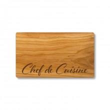 Chef de Cuisine Cutting Board made of Cherry Wood