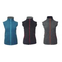 Fleece Vest Vail from Organic Wool