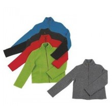 Women Fleece Jacket of Merino Wool