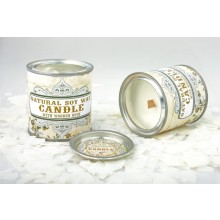 Design Soy Wax Candle Retro, scented & unscented