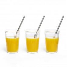 Drinking Straws Stainless Steel 20 cm Length