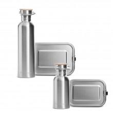 Lunchbox & Flask – Stainless Steel Starter Set Takeaway