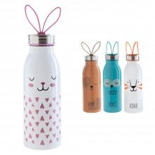 Aladdin Water Bottle ZOO for Children, double-walled stainless-steel