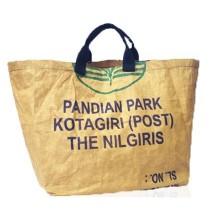 Shopper XL Tamil Nadu made of recycled tea bulk pack