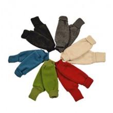 Children Fleece Legwarmers of Eco Wool