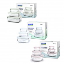 Classic Food Containers – 3part Set different sizes – by GlassLock