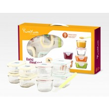 Baby Meal Set – Mini Containers 9part Set by GlassLock