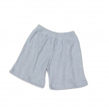 Terrycloth Pants Light Grey – Shorts for Kids, Organic Cotton
