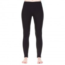 Functional Leggings, black, of Organic Cotton and TENCEL®