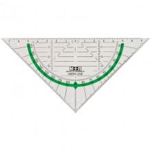 Triangle Ruler 16 cm made of Bioplastic