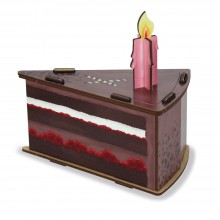 """Gift Box """"Chocolate Cake"""""""