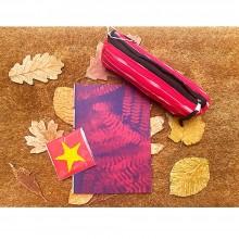 Fair Trade Gift Set Pencil Case IKAT & Notebook Spray Print