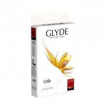 Glyde Vegan Condoms – Cola Flavour