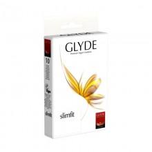 Glyde Slimfit Vegan Condoms made from Natural Rubber Latex