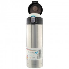 Stainless Steel Thermos Mug with one hand lid