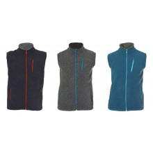 Fleece Vest Davos from Organic Wool