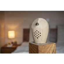 HUURI Owl – Motion Detector, Swiss Oak Wood, Elia