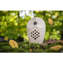 HUURI Owl – Motion Detector, Swiss Oak Wood, Forest Sounds