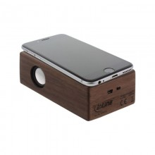 Speaker in real Wooden Walnut Case – InLine® woodbrick