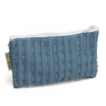 Small Pouch »Jane« made of recycled bra stapling straps