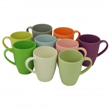 Lean Back Mug in different colours – eco cup of raw earth collection