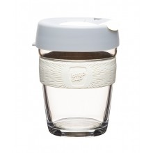 KeepCup Brew Cino – Reusable Cup made of Glass for Coffee & Espresso