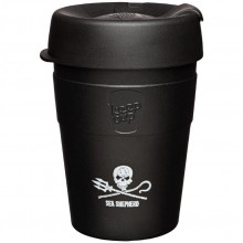 KeepCup Sea Shepherd Thermal – Barista Standard Refillable Cup made of Stainless Steel