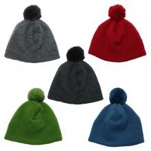 Children Fleece Bobble Cap from Organic Wool