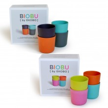 Pack of 4 BIOBU BAMBINO Kids Cups