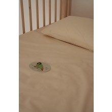 Bedding for children made of organic cotton with Parrot