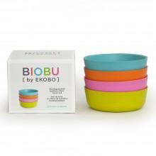 BIOBU BAMBINO Bowls – Pack of 4