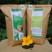 KleePura – vegan organic Fertiliser in different trading units