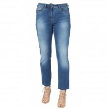 bloomers Fringe Hem Slim Fit Jeans, Organic Cotton