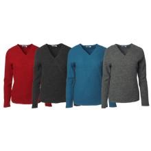 Crepe Full Wraparound Pullover – Organic Wool Pullover