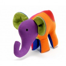 Stuffed Animal Cotton Elephant Big Salomon