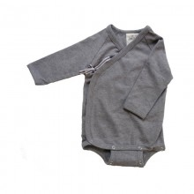 Baby Organic Long Sleeve Wrap Bodysuit