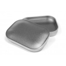 Rectangular Tin Plate Treats Storage Container for agility and to go