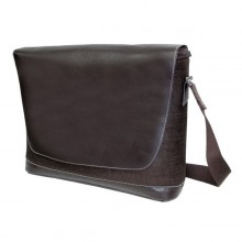Messenger Bag with Laptop compartment – Hobo Bag BIOLAP – Chocolate