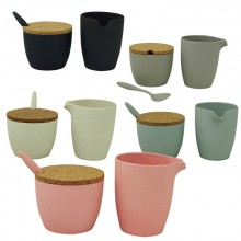 Dash & Dulce – Milk & Sugar Set in different colours – raw earth collection